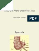 Appensitis Kronis Eksaserbasi Akut.pptx