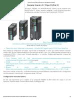 Siemens Sinamics G120 Por Profinet IO   Automatización Industrial
