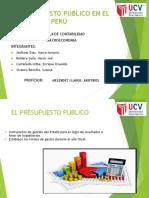 PRESUPUESTO PUBLICO EN EL PERU