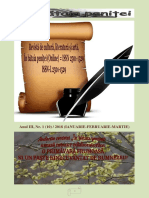 In bataia penitei, nr. 1(10) ( ianuarie- februarie - martie) 2018
