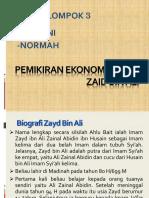 Pemikiran Ekonomi ZaId Bin Ali