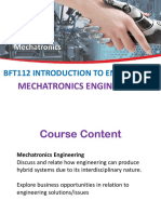 Mechatronics Engineeering