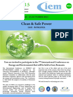 Call for Papers [CIEM 2015]