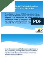 Taller informativo sobre de la Ley de Convivencia Ciudadana del Estado Carabobo