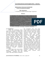 Jurnal-Pemberdayaan Informasi Untuk Keuanggulan Bisnis