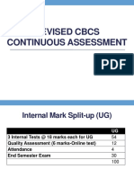 Revised CBCS CA-Students
