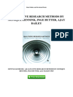 Qualitative Research Methods by Monique Hennink Inge Hutter Ajay Bailey(1)