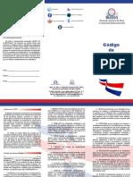 Brochure Código de Pautas Éticas