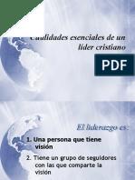 Cualidades de Un Lider Cristiano