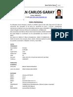 Cv Juan Carlos Garay - Dibujante
