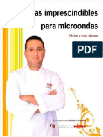 Roberto Peralta Recetas Imprescindibles Para Microondas