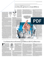 La Funesta Reforma Política Del Gobierno