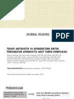 Ppt Journal Reading Bedah