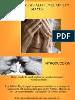 3.- Trastornos de Salud Adulto Mayor