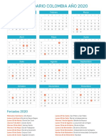 Calendario Colombia 2020.Merger Case Mergers And Acquisitions Goodwill Accounting