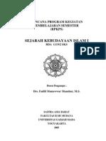 Sejarah Kebudayaan Islam I