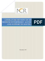 Literature Review on SME Access to Credit in South Africa_Final Report_NCR_Dec 2011.pdf