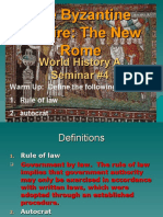 PowerPoint4 The Byzantine Empire