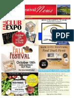SCF October 2018 Newsletter