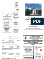 St Andrews Bulletin 093018