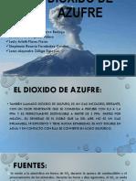 Exposicion Dioxido de Azufre