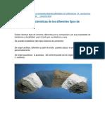 carcteristica cemento
