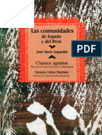 LAS COMUNIDADES DE ESP ANA Y DEL PERU  - José Maria Arguedas