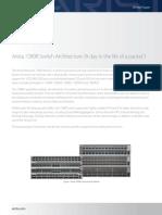 Arista 7280 Switch Architecture