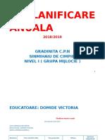 Planificare Anuala 2018 Gradi