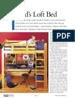 Plans Now - Bed Loft Plans