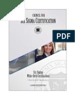 Six Sigma White Belt Certification Training Manual CSSC 2018 06b.en.Pt