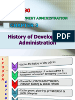 CHAPTER 3 New - History of Dev Admin