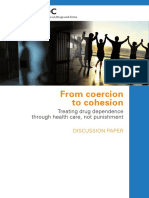 From Coercion - Treating Drug Dependence Through Health Care, Not Punishment - Escritorio Sobre Drogas Da ONU