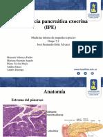 Insuficiencia pancreatica Exocrina