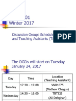 1. ADM3301 DGDs Schedule