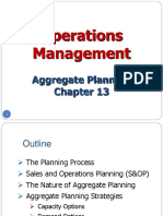 1. Aggregate Planning_Introduction