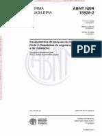 Arquivo EXPRESSAMENTE Para Impressão Da Norma NBR15926-2, Gerado Em 25-07-2018