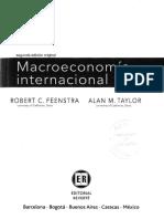 Feenstra, R; Taylor, A. Macroeconomia Internacional. Cap 5, Sec 3, 4 y 5
