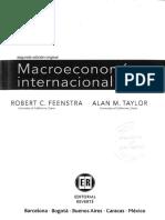 Feenstra, R; Taylor, A. Macroeconomía Internacional. Cap. 2