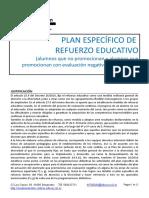Plan Refuerzo Educativo