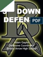 3RD DOWN DEFENSE