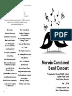 2018-05-03 HS MS Concert Program DRAFT 3