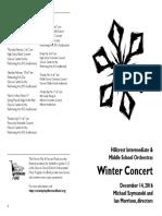 2016-12-14 Draft 1 Hillcrest MS Orchestra Concert 12-16