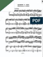 Astor Piazzola - Kashtanovoe i Goluboe Bayan