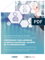 Isdi Preparado Para Abordar La Digitalizacion Del Talento en Tu Organizacion Meta4