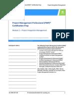 PMP preparatio Module 2