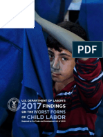 USDOL - Findings on the Worst Forms of Child Labor2017