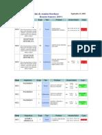 Listado de Clases y Salones de Semestre 2019-1 Para Revisar Disponibilidad de Salones