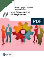 2014 OECD The Governance of Regulators.pdf