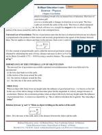 3. Gravitation Notes